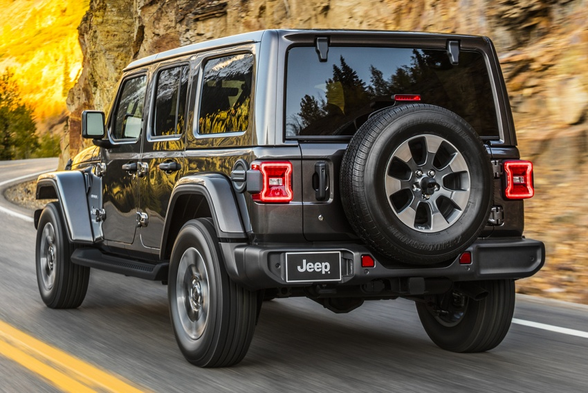2018 Jeep Wrangler gains new hybrid turbo engine Image #748170