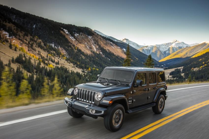 2018 Jeep Wrangler gains new hybrid turbo engine Image #748173