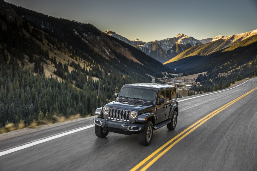 2018 Jeep Wrangler gains new hybrid turbo engine Image #748174