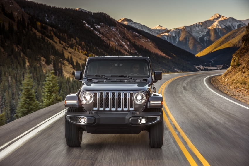 2018 Jeep Wrangler gains new hybrid turbo engine Image #748175