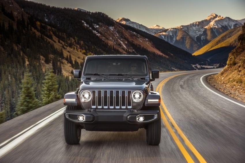 2018 Jeep Wrangler gains new hybrid turbo engine Image #748175