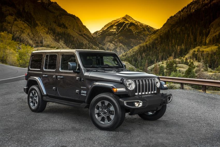 2018 Jeep Wrangler gains new hybrid turbo engine Image #748185
