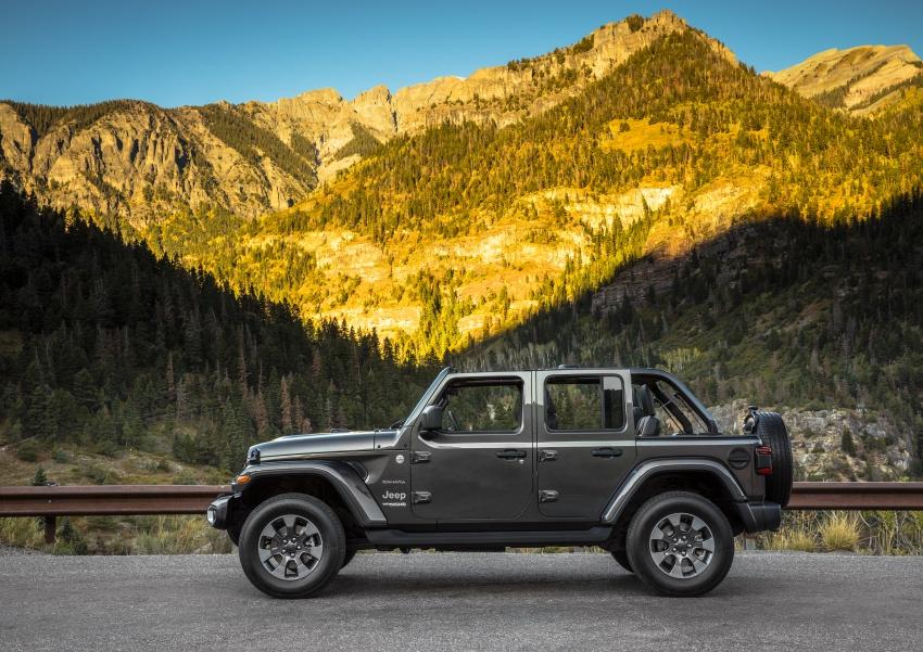 2018 Jeep Wrangler gains new hybrid turbo engine Image #748186