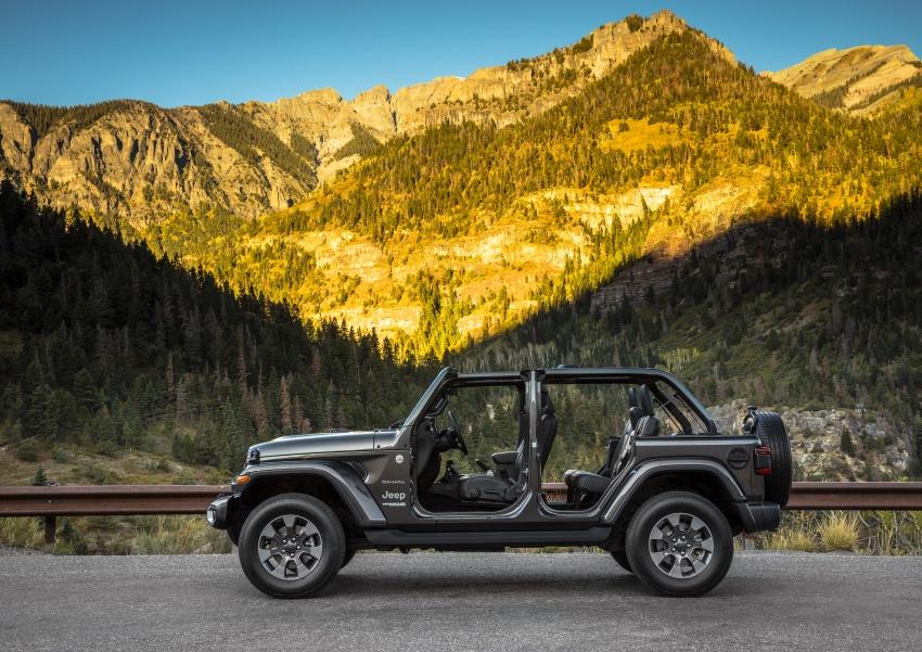 2018 Jeep Wrangler gains new hybrid turbo engine Image #748187