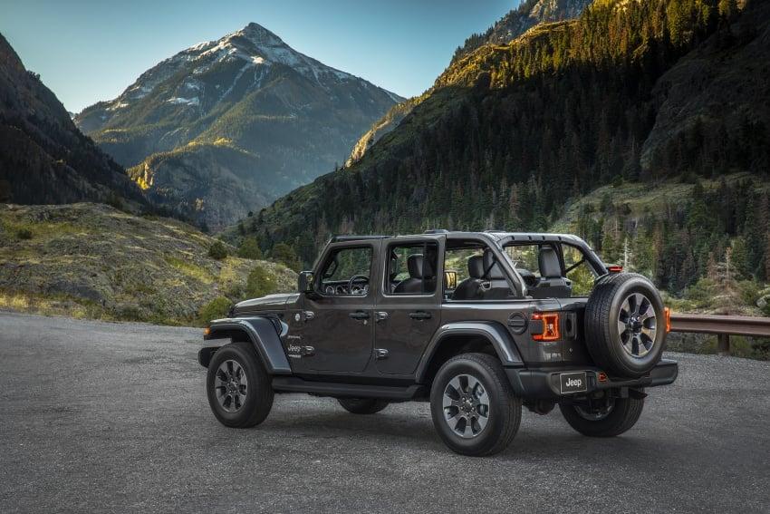 2018 Jeep Wrangler gains new hybrid turbo engine Image #748188