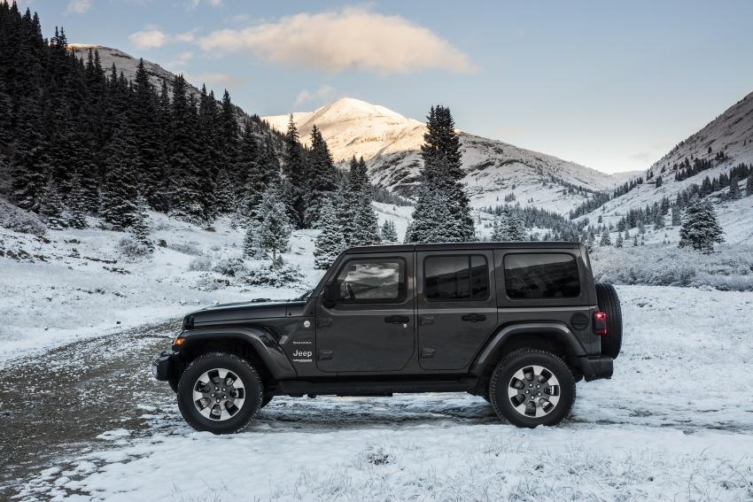 2018 Jeep Wrangler gains new hybrid turbo engine Image #748198