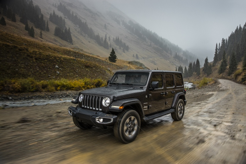 2018 Jeep Wrangler gains new hybrid turbo engine Image #748205