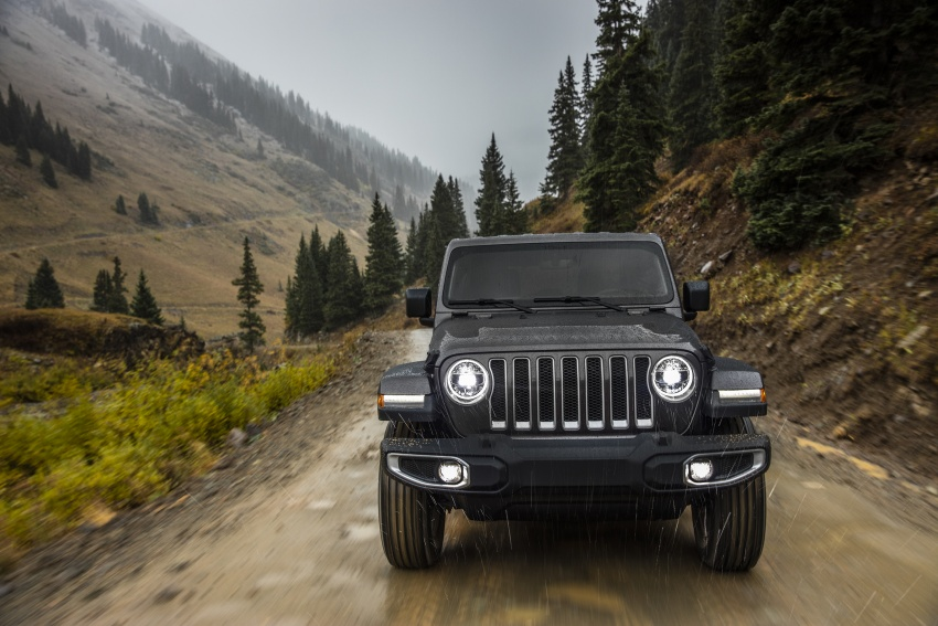 2018 Jeep Wrangler gains new hybrid turbo engine Image #748206
