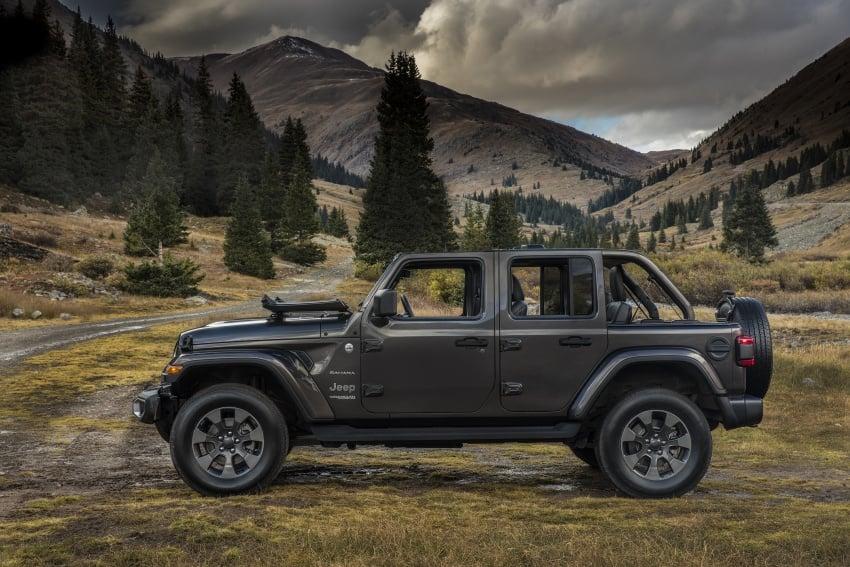 2018 Jeep Wrangler gains new hybrid turbo engine Image #748211