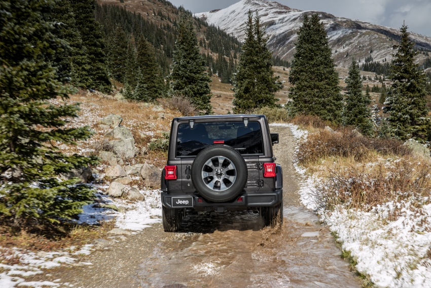 2018 Jeep Wrangler gains new hybrid turbo engine Image #748213