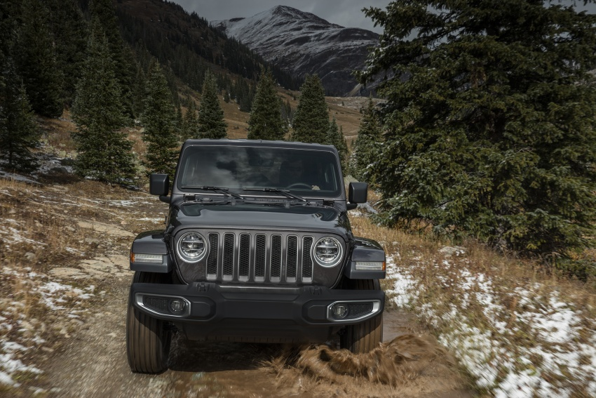 2018 Jeep Wrangler gains new hybrid turbo engine Image #748214