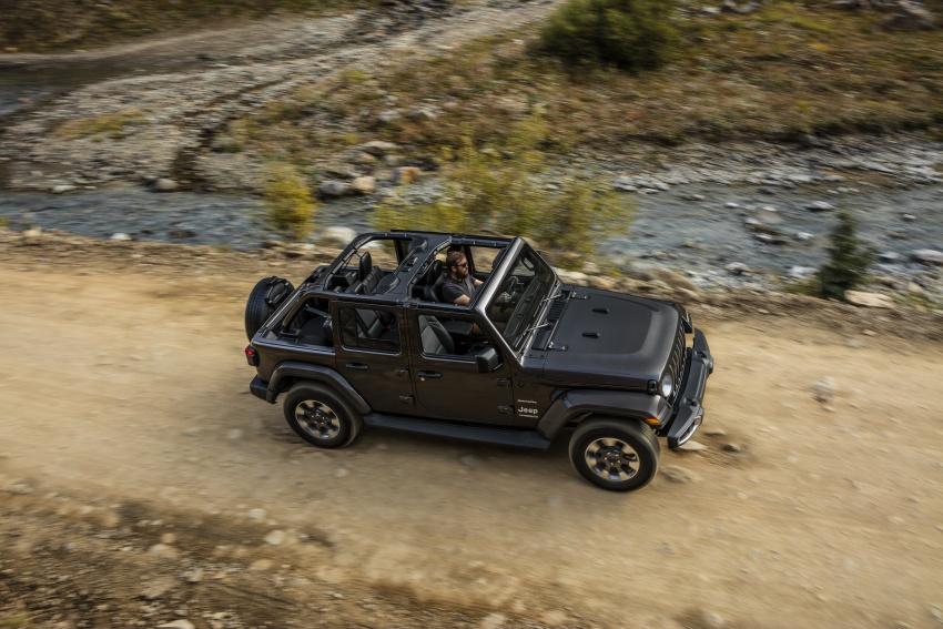 2018 Jeep Wrangler gains new hybrid turbo engine Image #748219