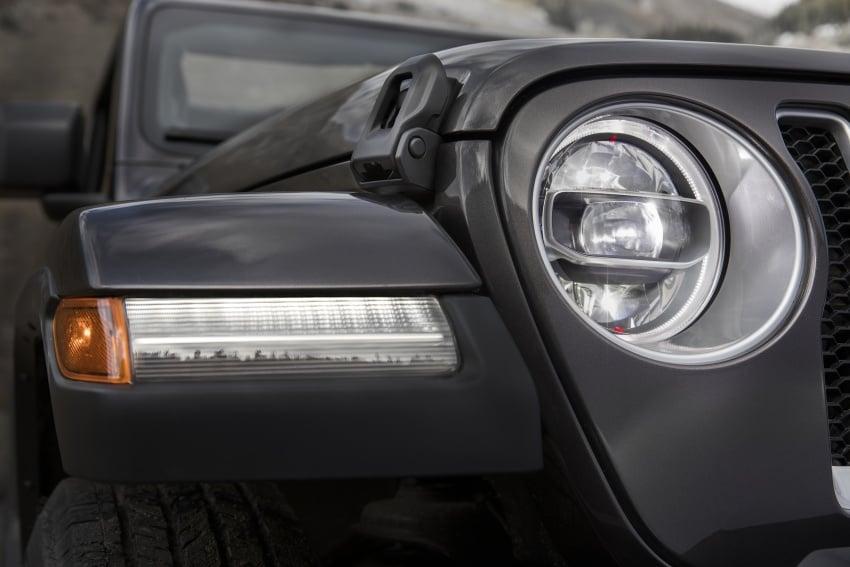 2018 Jeep Wrangler gains new hybrid turbo engine Image #748221