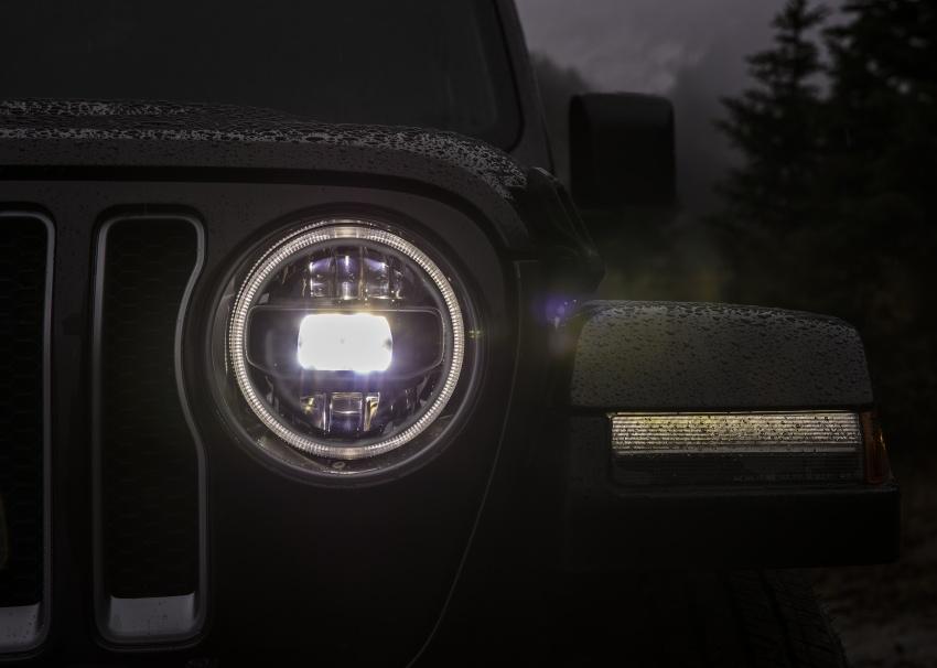 2018 Jeep Wrangler gains new hybrid turbo engine Image #748224