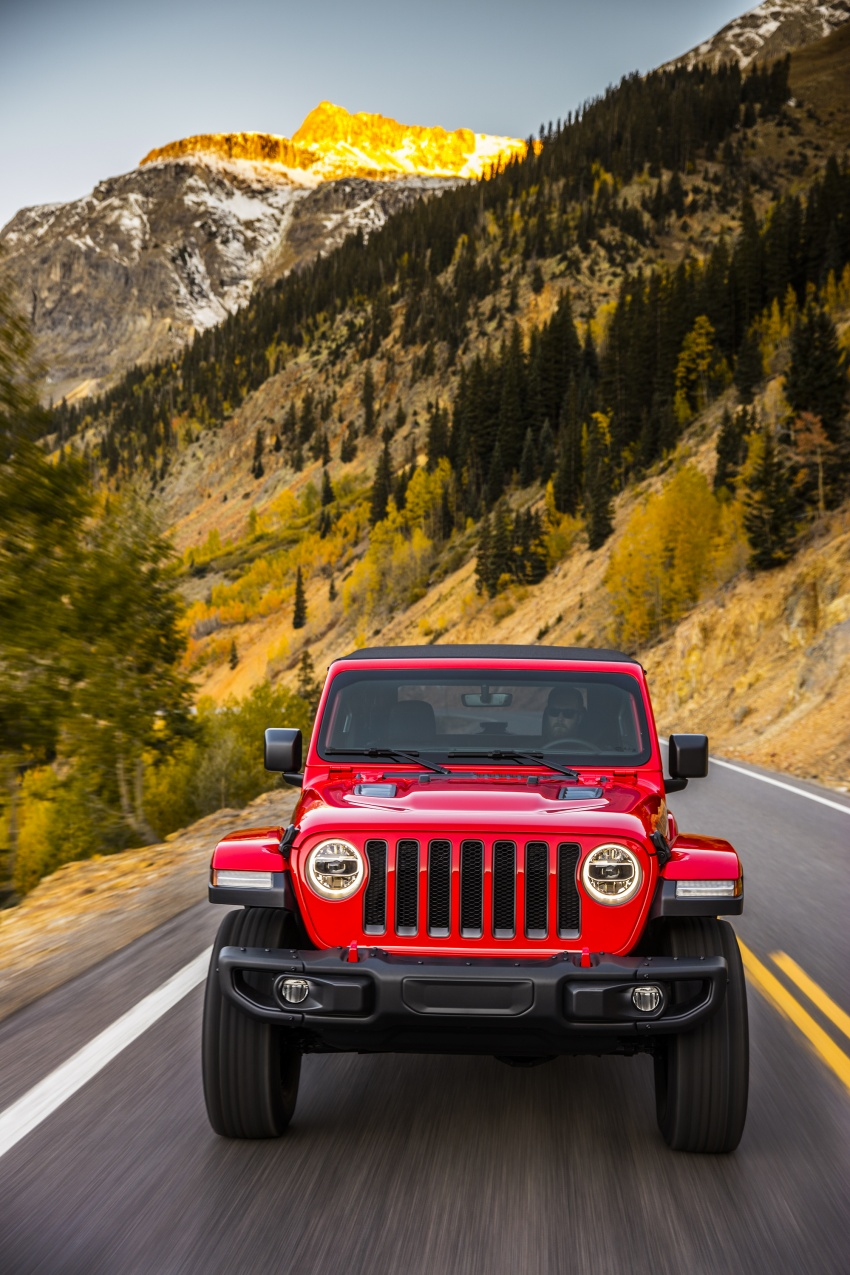 2018 Jeep Wrangler gains new hybrid turbo engine Image #748236