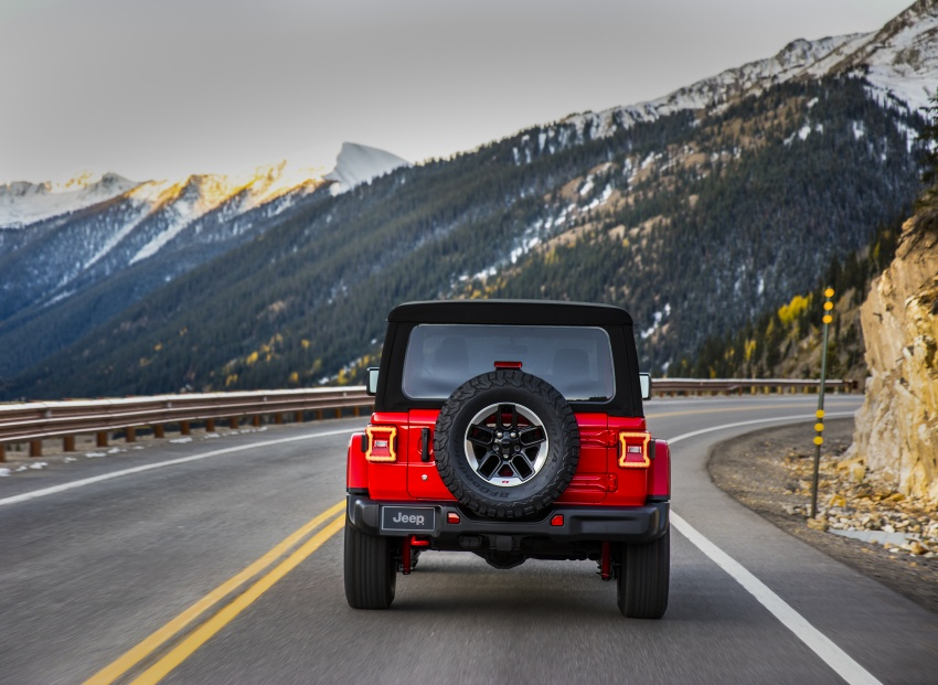 2018 Jeep Wrangler gains new hybrid turbo engine Image #748239