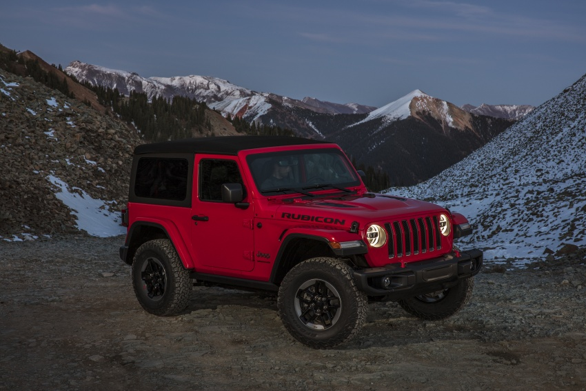 2018 Jeep Wrangler gains new hybrid turbo engine Image #748243