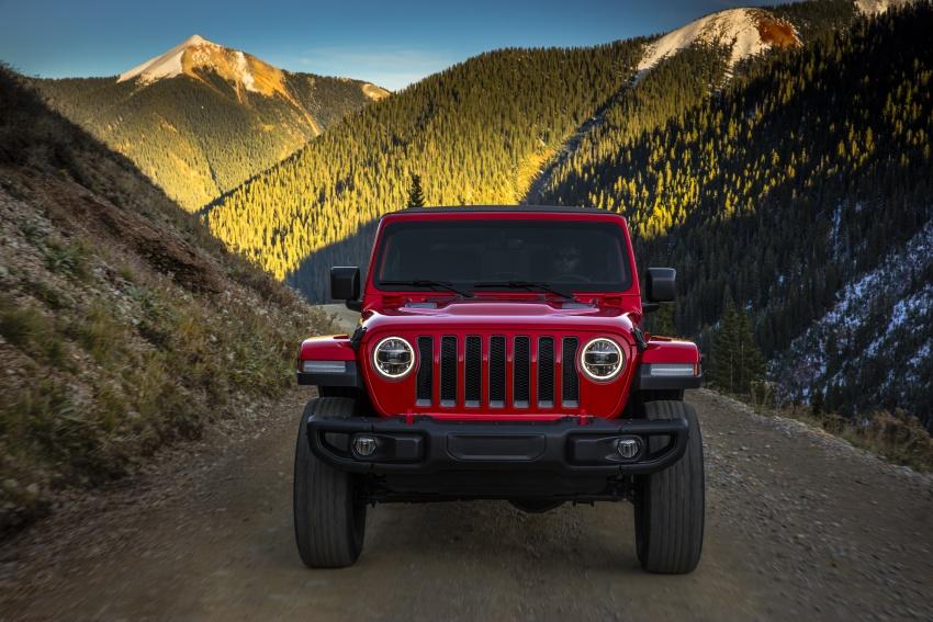 2018 Jeep Wrangler gains new hybrid turbo engine Image #748246