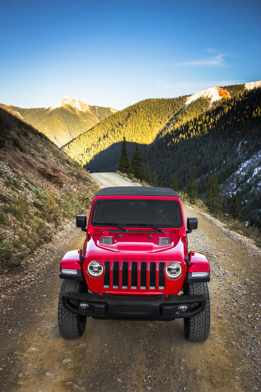 2018 Jeep Wrangler gains new hybrid turbo engine Image #748248
