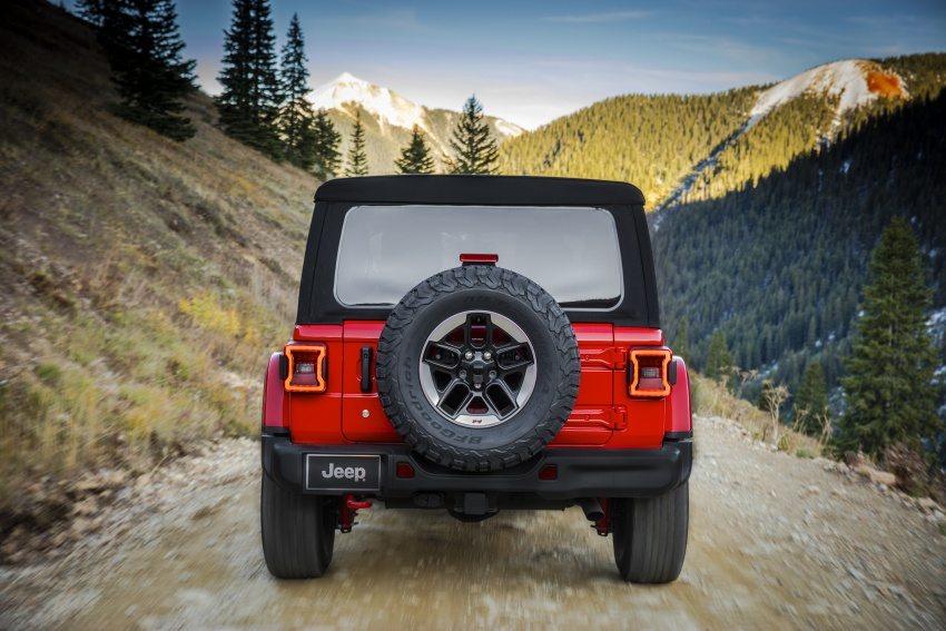 2018 Jeep Wrangler gains new hybrid turbo engine Image #748250