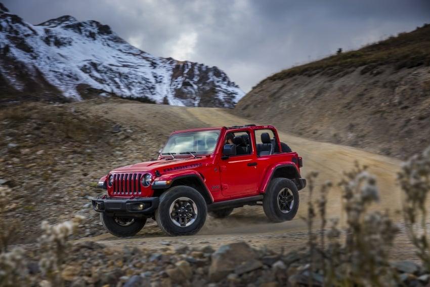 2018 Jeep Wrangler gains new hybrid turbo engine Image #748255