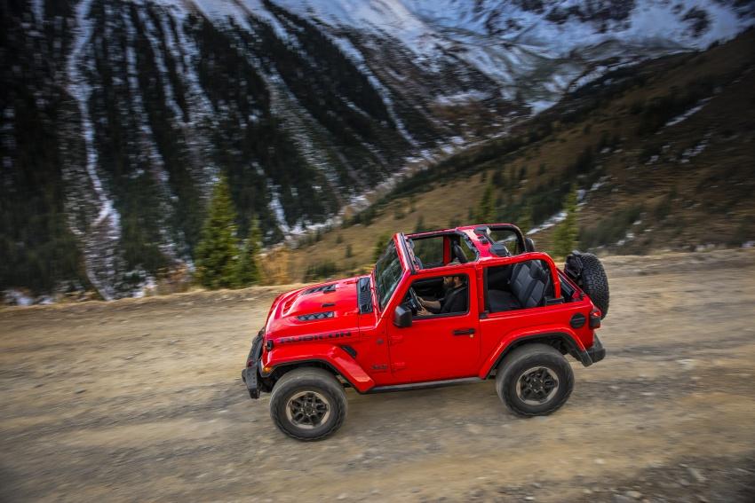 2018 Jeep Wrangler gains new hybrid turbo engine Image #748260