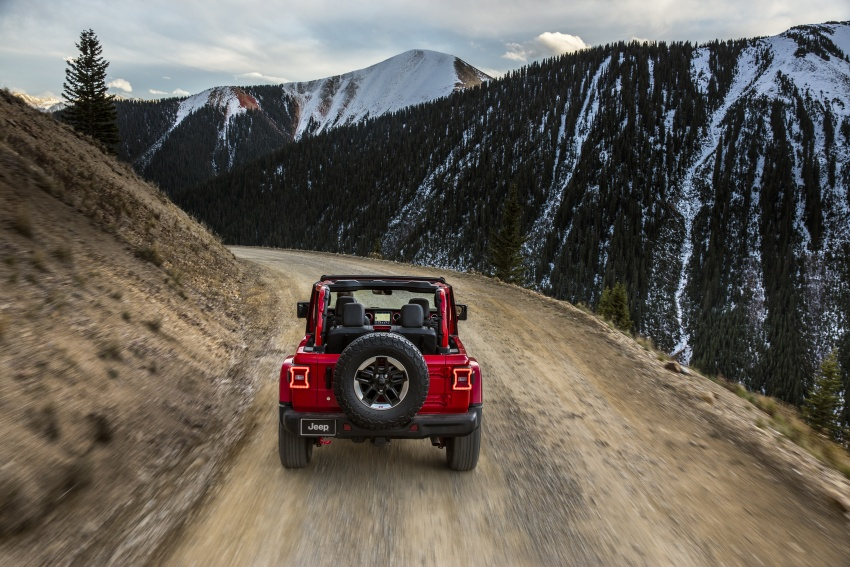 2018 Jeep Wrangler gains new hybrid turbo engine Image #748266