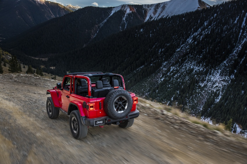 2018 Jeep Wrangler gains new hybrid turbo engine Image #748268