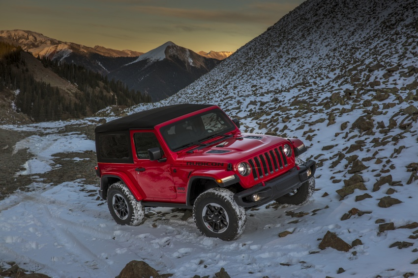 2018 Jeep Wrangler gains new hybrid turbo engine Image #748270