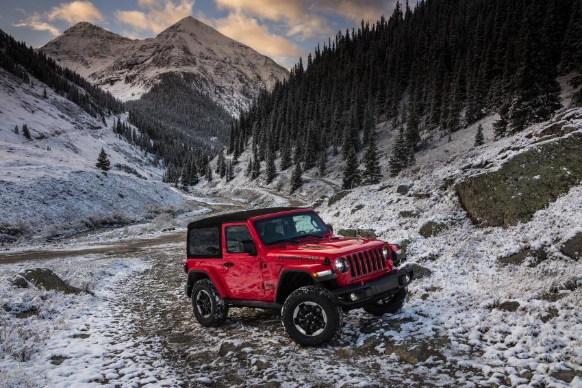 2018 Jeep Wrangler gains new hybrid turbo engine Image #748274