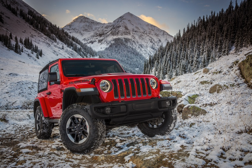 2018 Jeep Wrangler gains new hybrid turbo engine Image #748276
