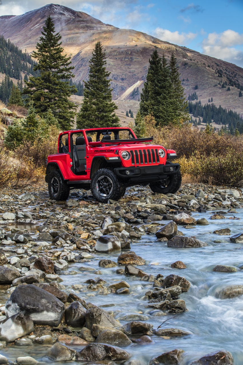 2018 Jeep Wrangler gains new hybrid turbo engine Image #748288