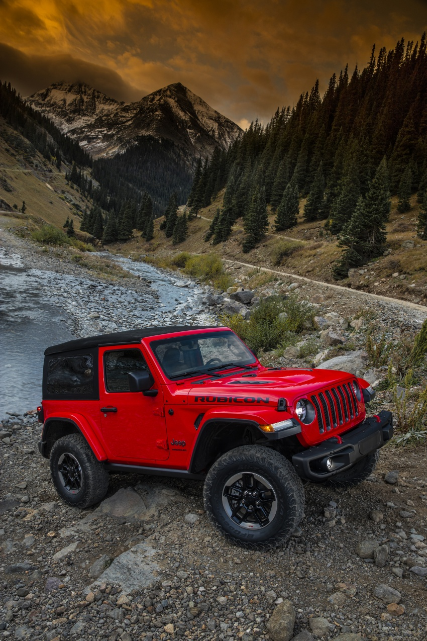 2018 Jeep Wrangler gains new hybrid turbo engine Image #748292