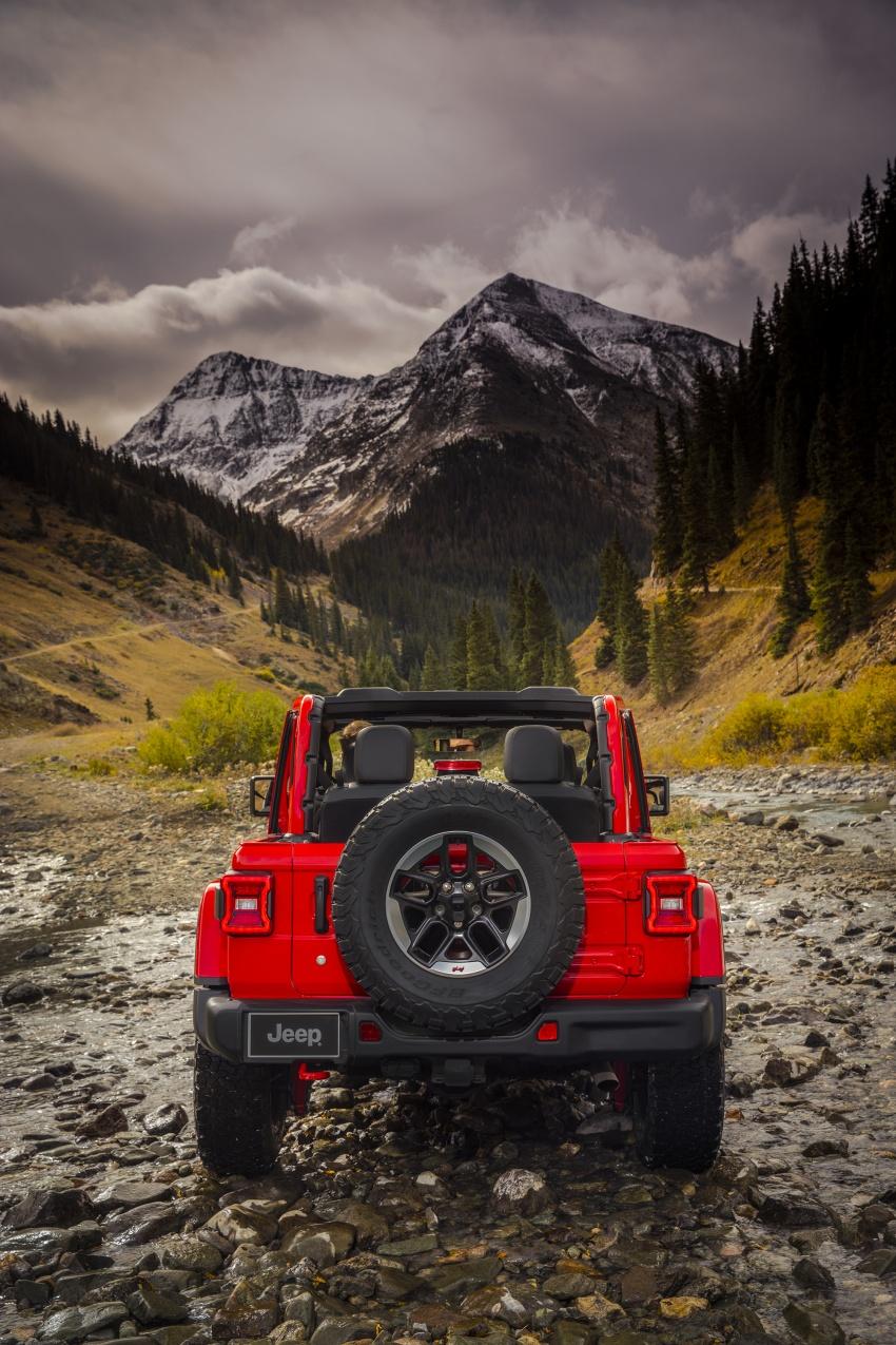 2018 Jeep Wrangler gains new hybrid turbo engine Image #748296