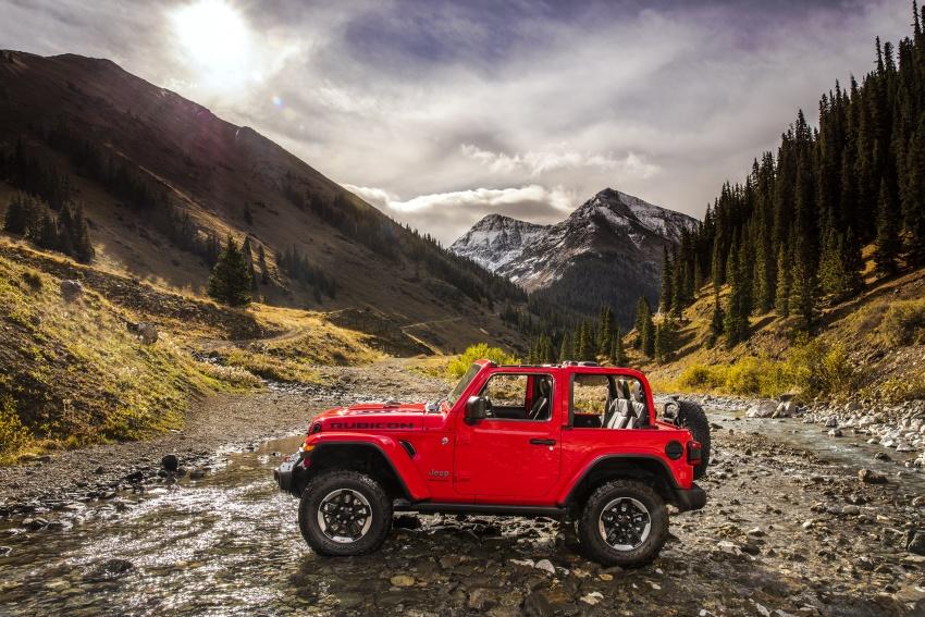 2018 Jeep Wrangler gains new hybrid turbo engine Image #748299