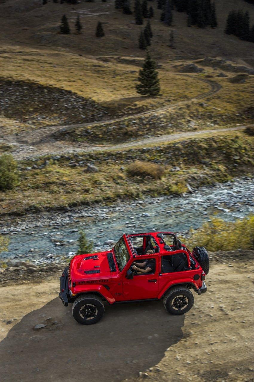 2018 Jeep Wrangler gains new hybrid turbo engine Image #748311