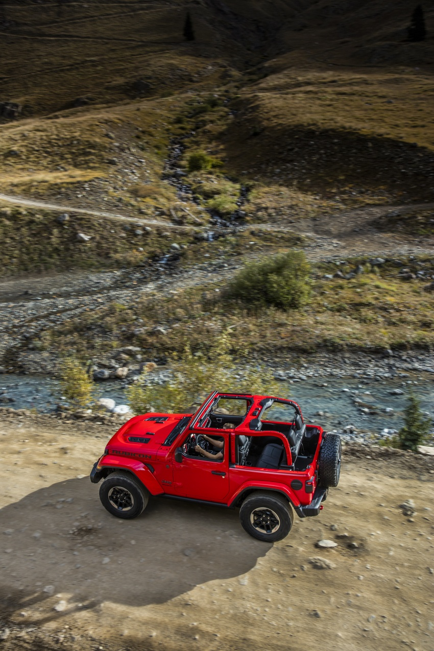 2018 Jeep Wrangler gains new hybrid turbo engine Image #748312