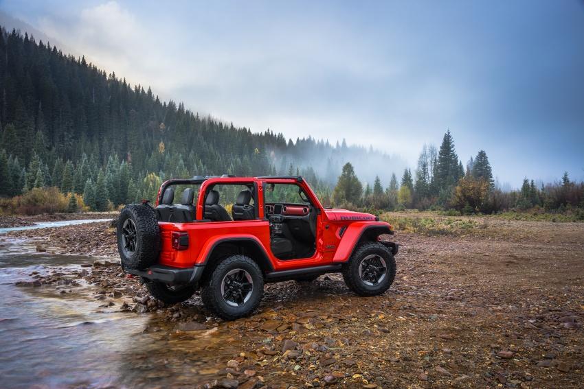2018 Jeep Wrangler gains new hybrid turbo engine Image #748316