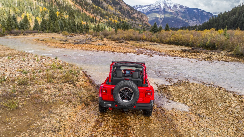 2018 Jeep Wrangler gains new hybrid turbo engine Image #748319