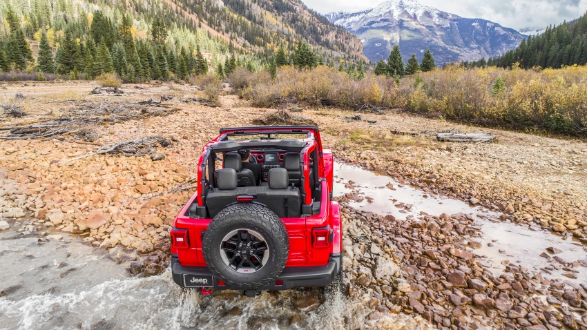 2018 Jeep Wrangler gains new hybrid turbo engine Image #748320