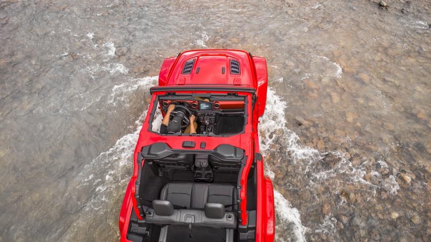 2018 Jeep Wrangler gains new hybrid turbo engine Image #748321