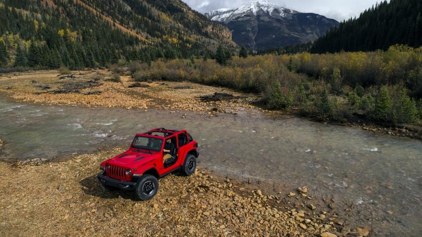 2018 Jeep Wrangler gains new hybrid turbo engine Image #748325