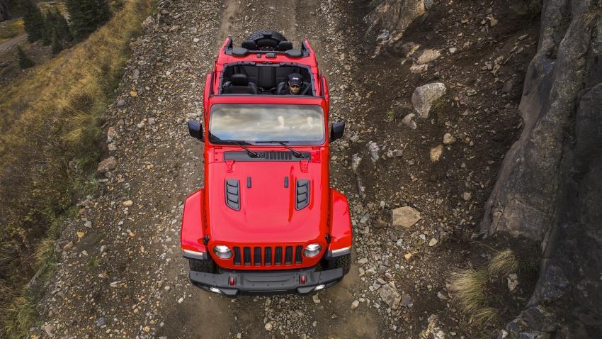 2018 Jeep Wrangler gains new hybrid turbo engine Image #748331