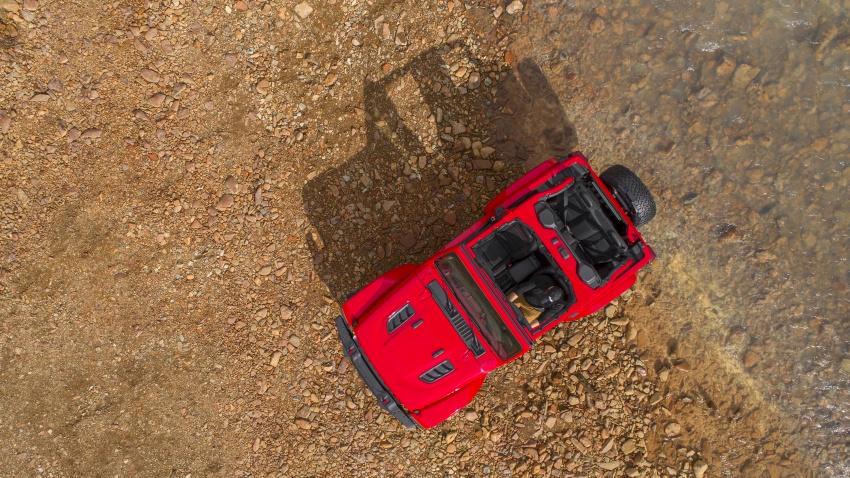 2018 Jeep Wrangler gains new hybrid turbo engine Image #748334
