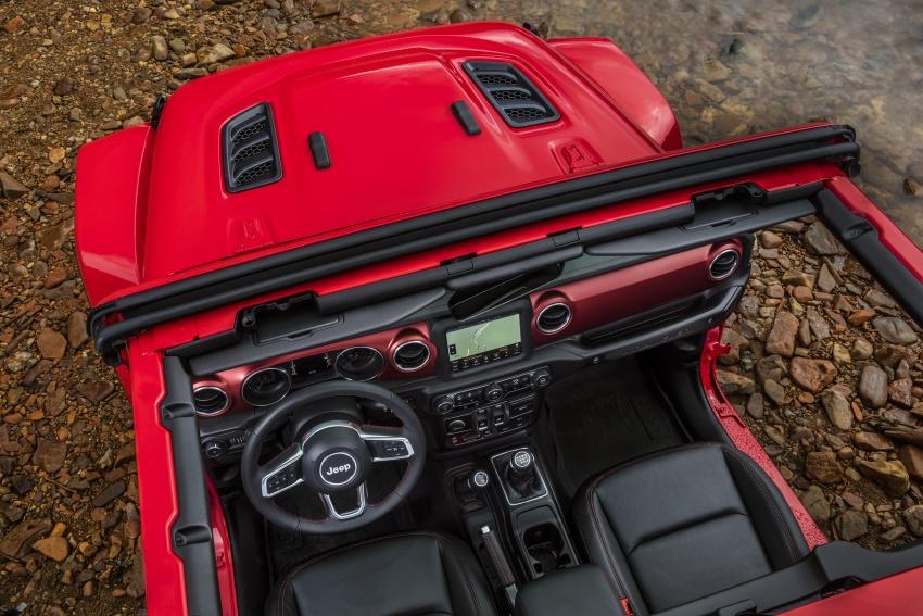 2018 Jeep Wrangler gains new hybrid turbo engine Image #748340