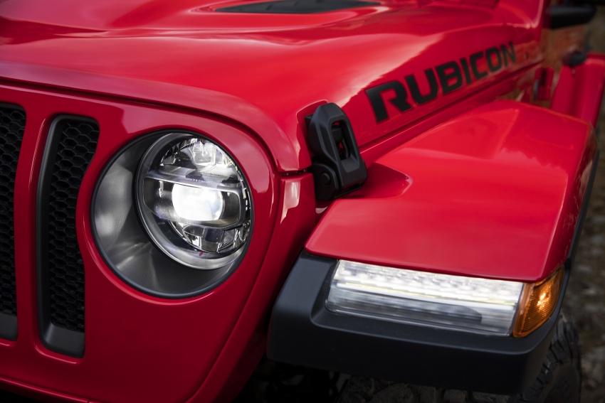 2018 Jeep Wrangler gains new hybrid turbo engine Image #748347
