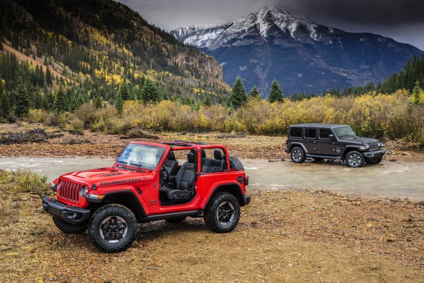 2018 Jeep Wrangler gains new hybrid turbo engine Image #748354