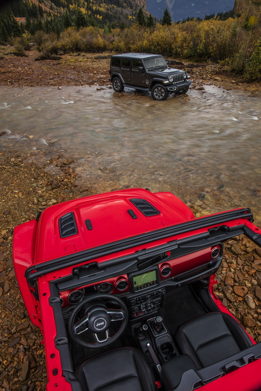 2018 Jeep Wrangler gains new hybrid turbo engine Image #748360