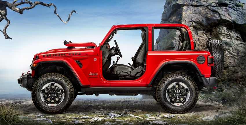 2018 Jeep Wrangler gains new hybrid turbo engine Image #748363