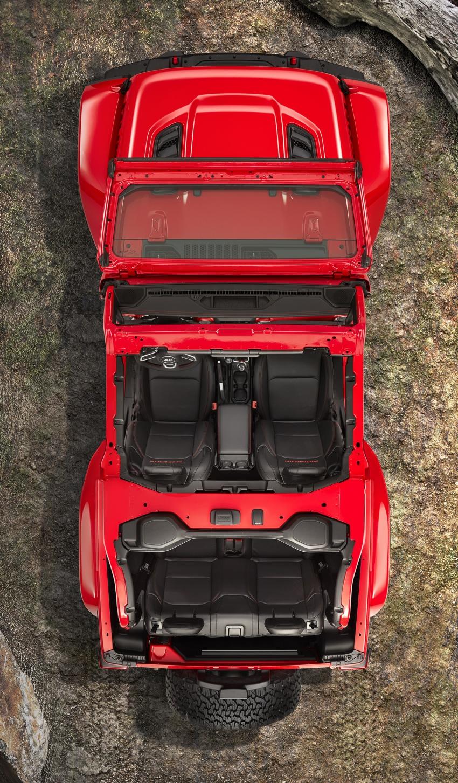 2018 Jeep Wrangler gains new hybrid turbo engine Image #748365